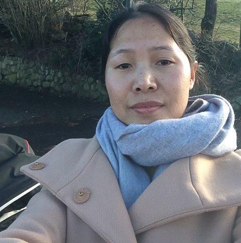 Lisa Nudong Awikumca liker KrF fordi ho sjølv er kristen.