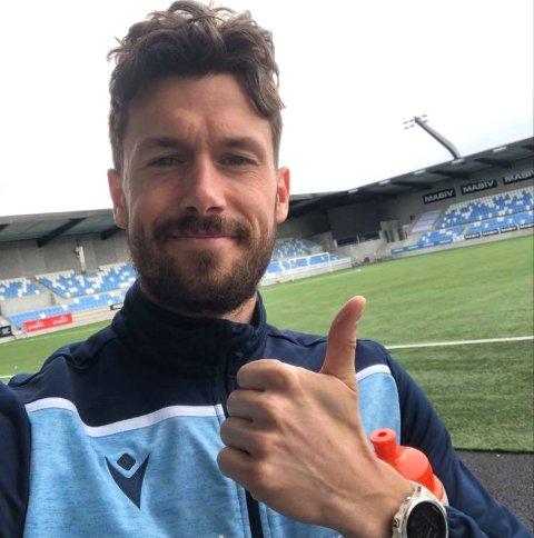 NY HJEMMEBANE: Fredrik Pålerud er glad han valgte vekk Kongsvinger og heller satset på en ny start i Sandnes.