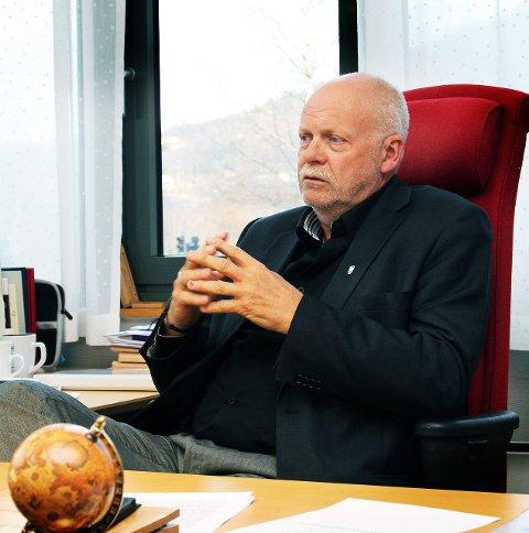 SOVER GODT: Jann-Arne Løvdahl, ordfører i Vefsn.
