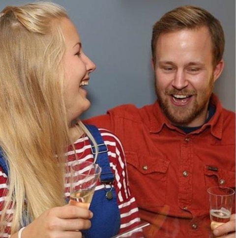 """Preben Karlsen fra Ørejordet og samboer Emelie Magnusson vant """"Drømmehytta"""""""