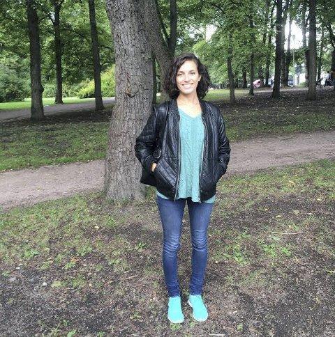Jobber som kommentator: Vårin Alme (25) jobber for nettstedet AmerikanskPolitikk.no, og kommenterer for tiden den amerikanske valgkampen blant annet på NRK.Privatfoto