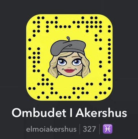 PÅ SOSIALE MEDIER: Mobbeombudet er til stede på flere sosiale medier, deriblant Snapchat (bildet), Facebook og Instagram.