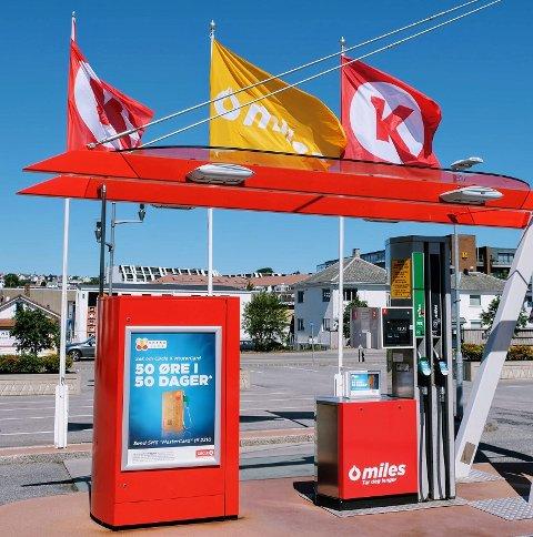 Statoil Automat og 123 blir nå Circle K Automat. (Illustrasjonsbilde)
