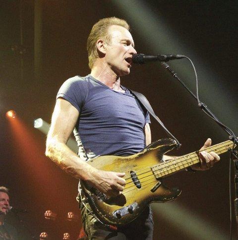 Test: Sting blir den største konserten i Kristiansund noen sinne. Foto: Martin Kierszenbaum