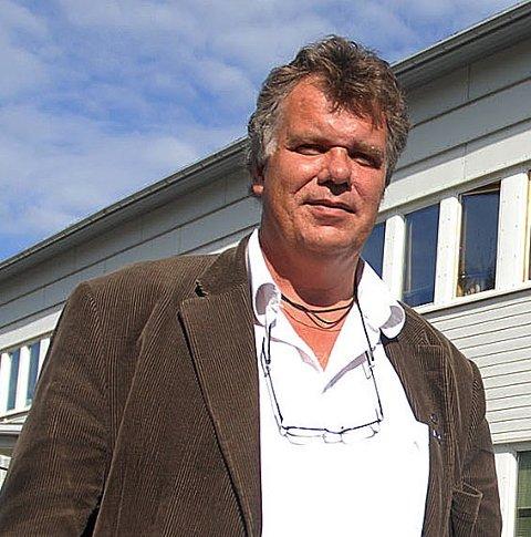 Ser mot Steigen: Ordfører Jan-Folke Sandnes i Hamarøy.