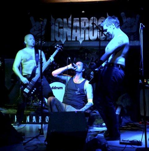 Kvelden for rockerne: Bilde fra et tidligere arrangement med Ignarock i Enebakk. foto: bjørn mikkelsen