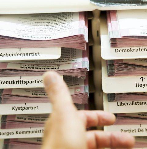 Valets kval: Sperregrensa og utjamningsmandata vil avgjere valet i år, men korleis fungerer det eigentleg? FOTO: NTB/SCANPIX