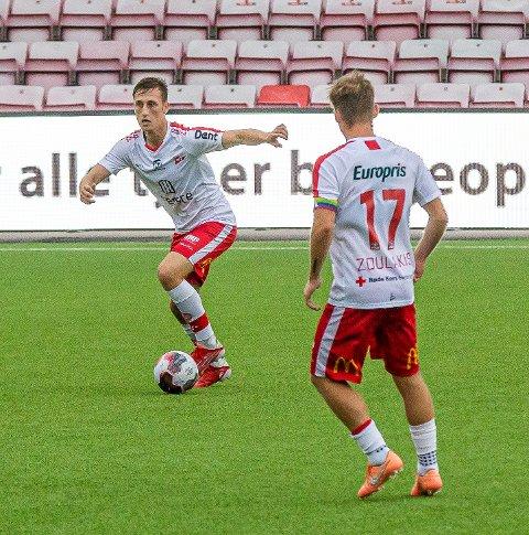 Adnan Hadzic spilte 79 minutter for FFK2 mandag.
