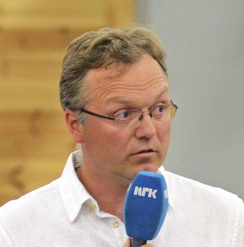 – RART: Morten Hagen (GBL) svarer på påstanden fra Else Randi Kolby om at hans besøk på hennes kontor var «ubehagelig og uryddig». ARKIVFOTO: BJØRN BJØRKLI