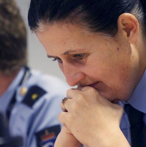 Hof fengsel: Direktør for Kriminalomsorgen Region sør, Rita Kilvær, er bekymret for alle de ansatte som mister jobbene sine.Foto: Jarl Rehn-Erichsen