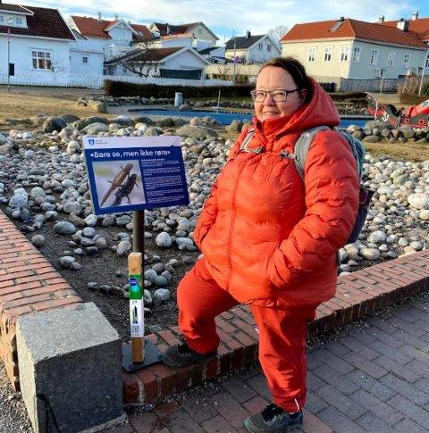 IVRIG: Bente Trømborg var først ute i hele landet i år.