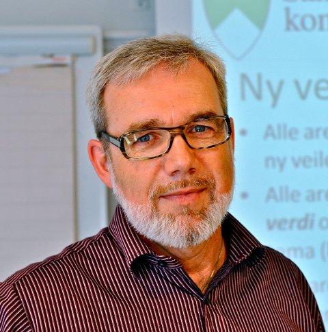 Går sin gang: – Uavhengig av kommunereformen, sier kommunalsjef Knut Johansen. Foto: Svein-Ivar Pedersen