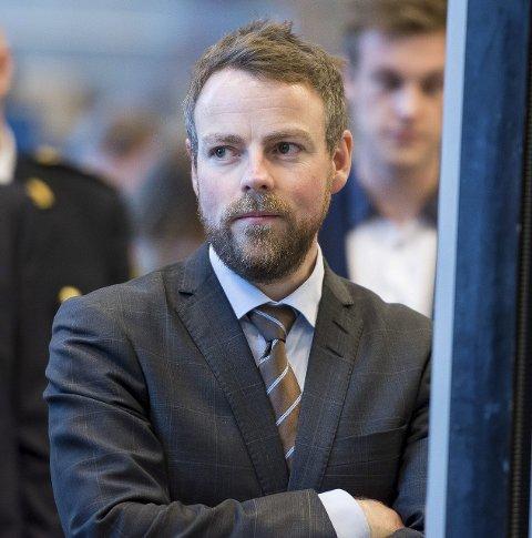 TOPPSJEF: Torbjørn Røe Isaksen (H) er kunnskapsminister.