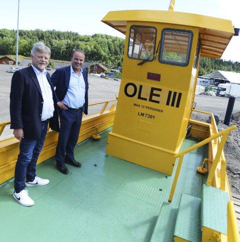 «I et grønt transportsystem hører fergeforbindelsen over Husøy- sundet naturlig hjemme»