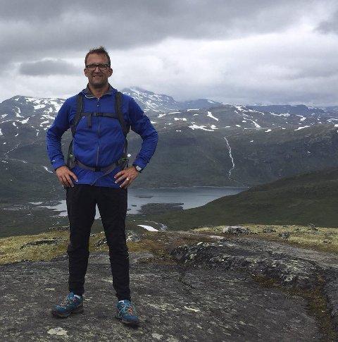 2018: Ove Vestheim kommer til Beitostølen for å fortelle om hvordan han kom seg på beina igjen, fysisk og psykisk.Foto: Privat