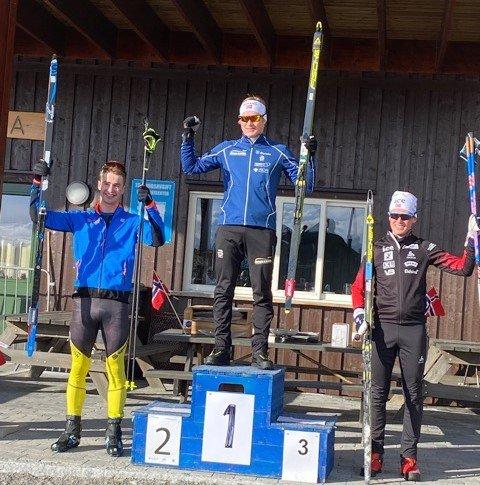 TIL TOPPS: Harald Øygard vant på normaldistansen under helgas Lerumcup på Lygna. På sprinten lørdag ble det 3. plass.