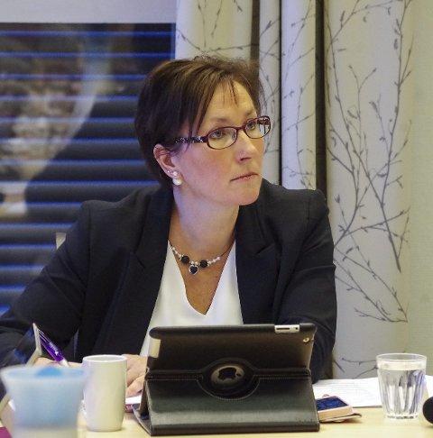 ORDFØRER: Hilde Frankmo Tveråen. Foto: T.H. Løkken
