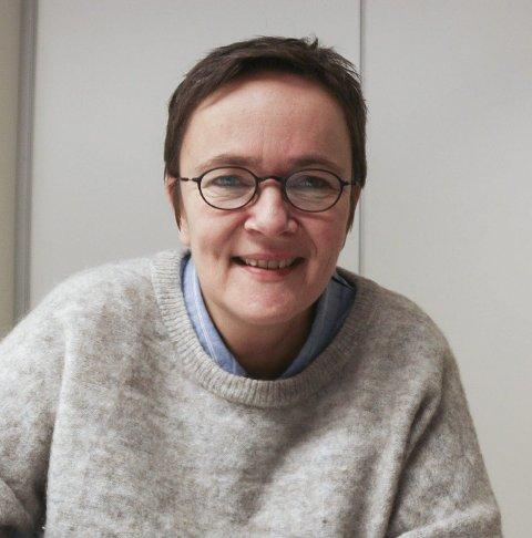 VIL TA DEBATTEN: Guri Heggem (Sp) vil flytte skolestrukturdebatten til politisk arena nå.