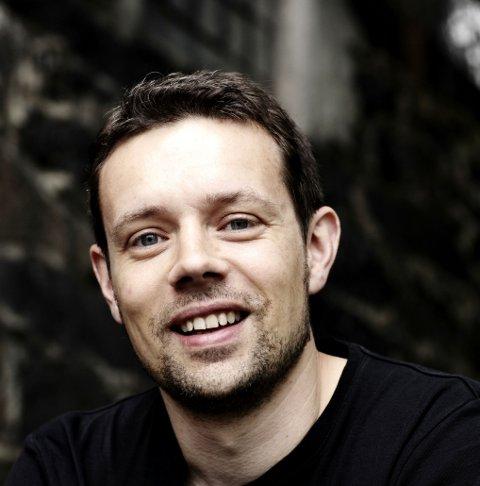 Lars Mæhle var nominert til Rivertonprisen 2017. Arkivbilde