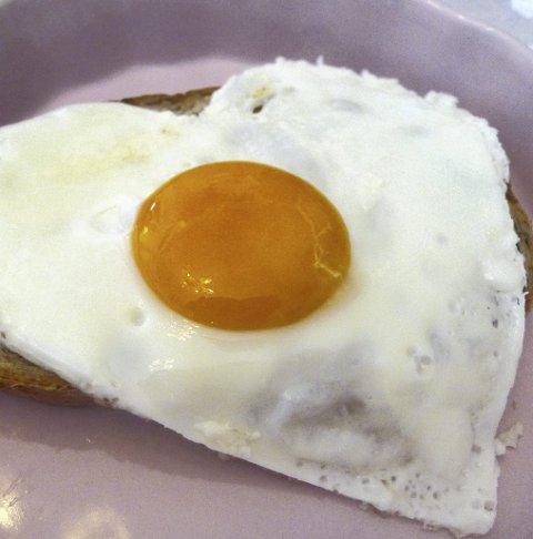 Dobles: Salget av egg dobles i forkant av påska.