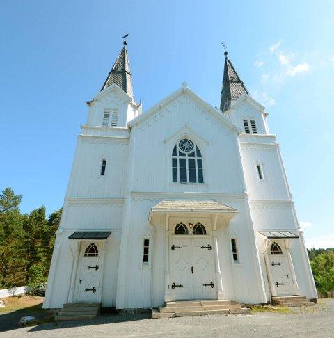 KAN VANNE: Frydendal kirke.