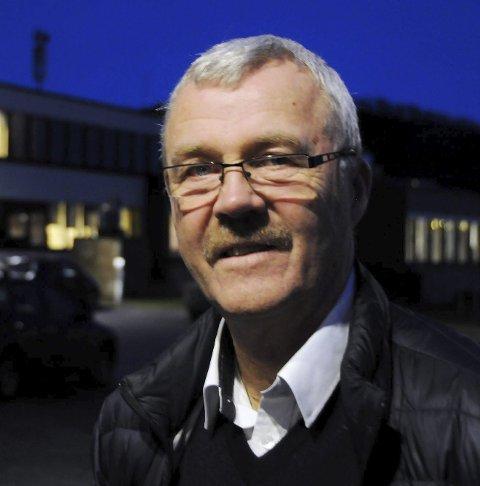 Vil bevare: Fred Eliassen vil bevare lensmannskontoret.