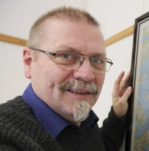 Fornøyd: Lars Kr. Evjenth.