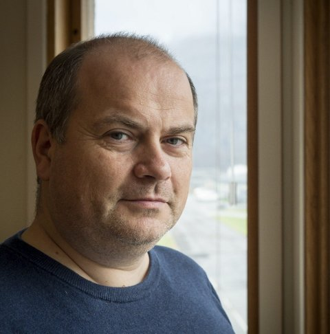 Fabrikksjef: Øyvind Jenssen.Foto: Johan votvik