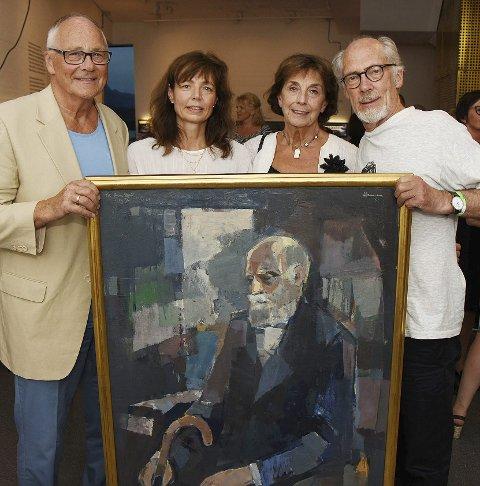 Kunst: Hamsun-Selskapet sitter på store kunstskatter.