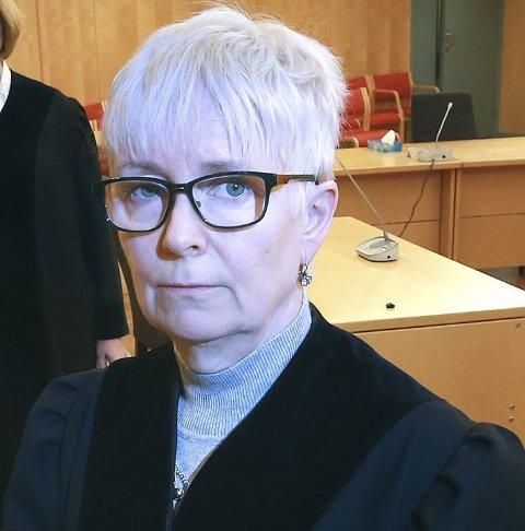 Ingrid Johanne Lillevik, soren skriver i Salten tingrett. Nå blir hun også sorenskriver i Lofoten tingrett. Bildet er tatt i en annen sammenheng.
