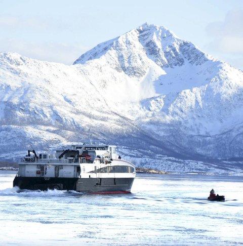 ViktiG:Hurtigbåten er viktig for kysten og godsformidlingen.