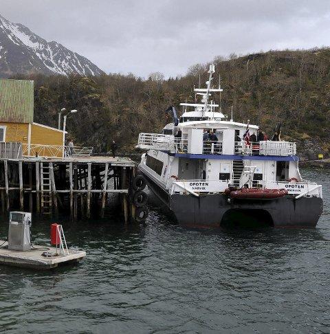 Ny kai: 1. juni får hurtigbåten på Skutvik ny anløpskai.