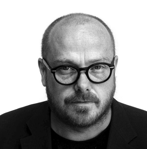 Aktiv: Thomas Kvam  til Hamarøy med aktuell kunst.