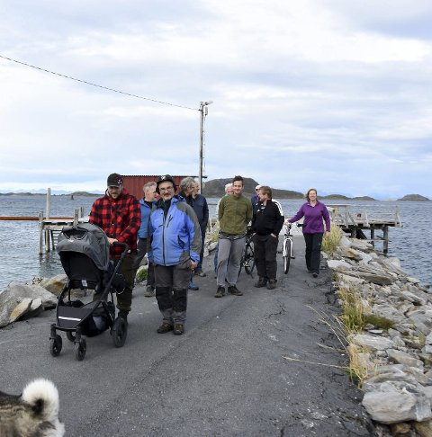 Uten båt: Holkestad  har mistet hurtigbåttilbudet.