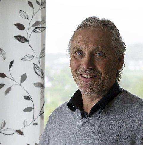 Leder: Nils Fredrik Røv. Foto: Johan Votvik