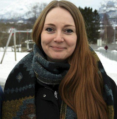 Leder: Janita Olvik er leder for Hamarøy frivillighetssentral.