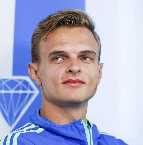 NØGD: Øyvind Strømmen Kjerpeset er glad for at han no kan konsentrere seg om sprint.