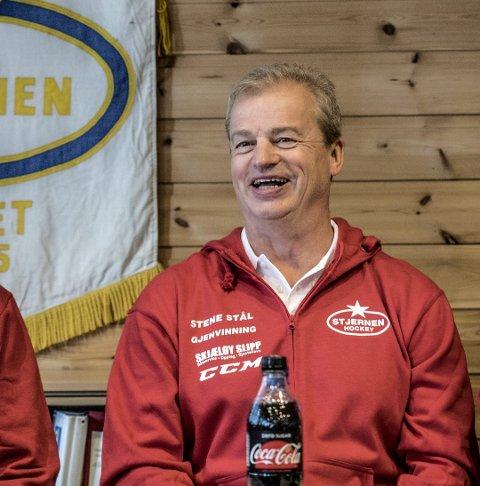GÅR PÅ IS: Bengt Åke Gustavsson og Stjernen går på is i Stjernehallen førstekommende mandag.