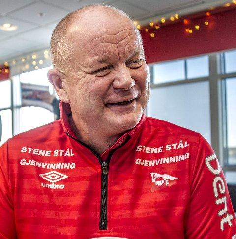 PER-MATHIAS HØGMO: Er fornøyd med FFKs andreomgang mot Alta og nå gyver han løs på forberedelsene til kampen mot KFUM Oslo.