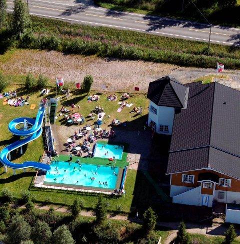Sendt hit: Visit Narvik er turistkontor for hele regionen og sender telt turister til ballangen Camping.