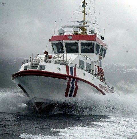 BIDRO TIL RADIOTEST: NRK har testet DAB-radio til havs i sommer, i samarbeid med Redningsselskapet.