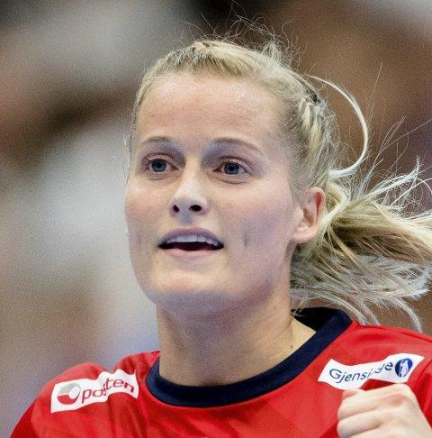 I FORM: Marit Røsberg Jacobsen, håndballstjerne fra Narvik