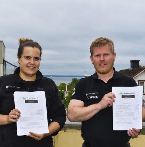 KRONERULLING: Norsk Folkehjelp har ber bedrifter om støtte så de kan skaffe seg nytt kjøretøy.