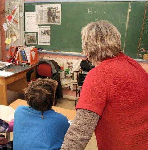 BEDRING: Ledigheten går ned, særlig blant yngre. Læreryrket har få arbeidsledige i forhold til andre yrkesgrupper.