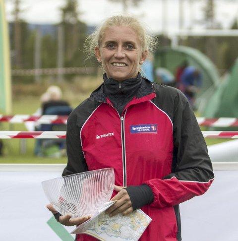 Suveren: Grethe Bergersen, Eidskog OL.