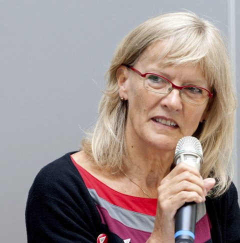 ENGASJERT: Karin Andersen har engasjert seg i asylsaken.