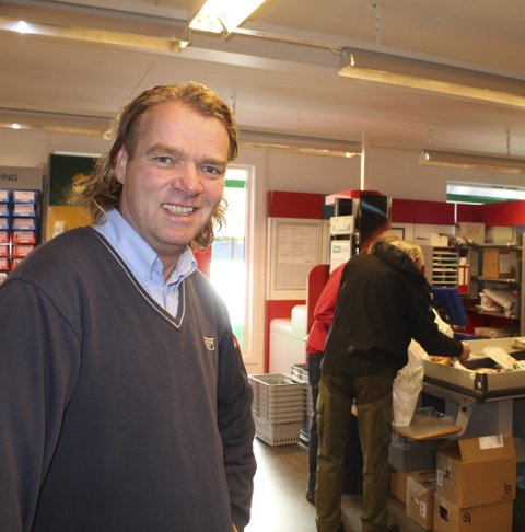 BYR PÅ FEST: Kjøpmann Åke Kolstad.