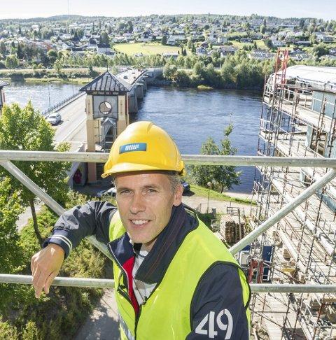 ATTRAKTIV: Kjell Bjarte Kvinge og Ø.M. Fjeld er populær blant studentene.