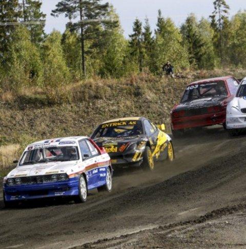Til finnskogeN: NM-runde i rallycross også neste år.