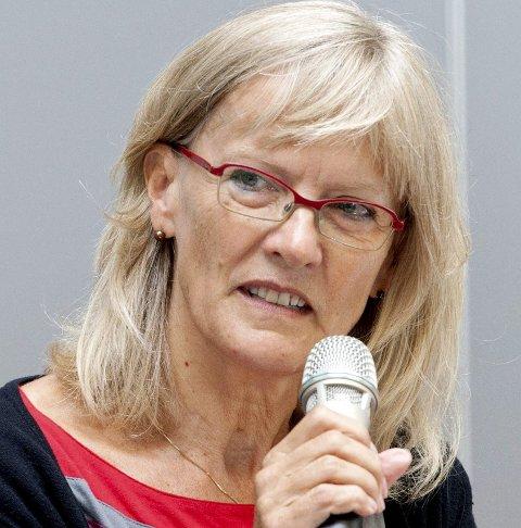 NY ORDNING: Karin Andersen vil ha en ny modell for utregning av eiendomsskatt.Foto: Ole-Johnny Myhrvold